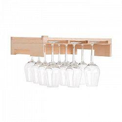 Klarstein Barossa 77D, polica na poháre na víno, príslušenstvo, pravé drevo
