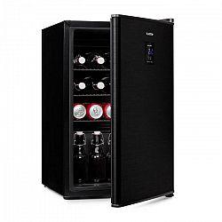 Klarstein Beer Baron, chladnička na nápoje, A+, 68 litrov, 39 dB, 0 – 10 °C, čierna