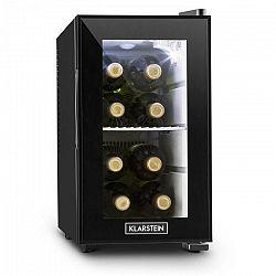 Klarstein Beerlocker S, čierna, mini chladnička, 21 litrov, trieda A+