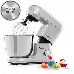 Klarstein Bella Robusta Metal, kuchynský robot, 1.200 W, 6 úrovní výkonu, 5,5 l, sivý