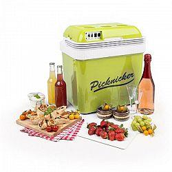 Klarstein Big Picknicker, termo chladiaci box, A++, AC/DC, auto, 24 l, zelený