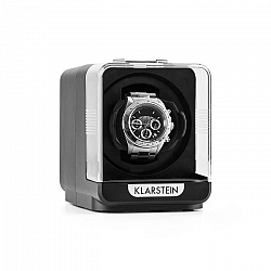 Klarstein Eichendorff, naťahovač na hodinky, 1 hodinky, 4 režimy, čierny