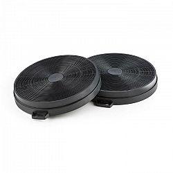 Klarstein filter s aktívnym uhlím, filter do digestora, náhradný filter, 2 kusy, recirkulácia, Ø206 mm