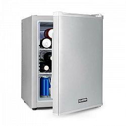 Klarstein Happy Hour 37, mini bar, 37L, 5-15°C, tichý, 0dB, LED-svetlo, strieborný