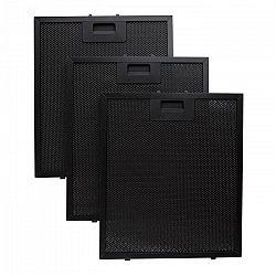 Klarstein Hliníkový filter mastnôt 26,5 x 31cm náhradný vymeniteľný filter čierna