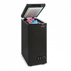 Klarstein Iceblokk 50, mraziaci box, voľne stojaci, 50 litrový kôš, uzamykateľný, energetická trieda A+, čierny