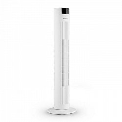 Klarstein Skyscraper 2G, stĺpový ventilátor s dotykovým ovládaním, 40 W, diaľkový ovládač, biely