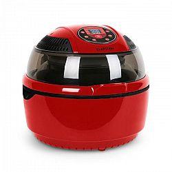 Klarstein VitAir, 1400 W, 9 litrov, teplovzdušná fritéza, grilovanie, pečenie, červená
