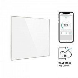 Klarstein Wonderwall 360 Smart, infračervený ohrievač, 60 x 60 cm, 360 W, týždenný časovač, IP24, biely