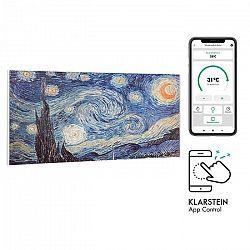 Klarstein Wonderwall Air Art Smart, infračervený ohrievač, 120 x 60 cm, 700 W, aplikácia, hviezdy