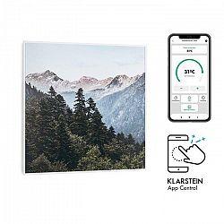 Klarstein Wonderwall Air Art Smart, infračervený ohrievač, 60 x 60 cm, 350 W, aplikácia, hora