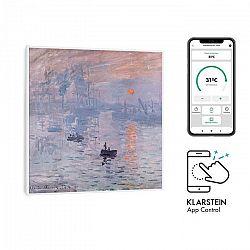 Klarstein Wonderwall Air Art Smart, infračervený ohrievač, 60 x 60 cm, 350 W, aplikácia, východ slnka