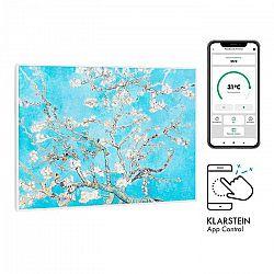Klarstein Wonderwall Air Art Smart, infračervený ohrievač, 80 x 60 cm, 500 W, kvety
