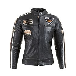 Dámska kožená moto bunda W-TEC Sheawen Lady Black