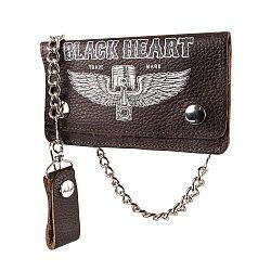 Peňaženka Black Heart Rahakot Brown