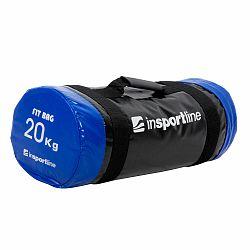 Vak na posilňovanie s úchopmi inSPORTline FitBag - 20 kg